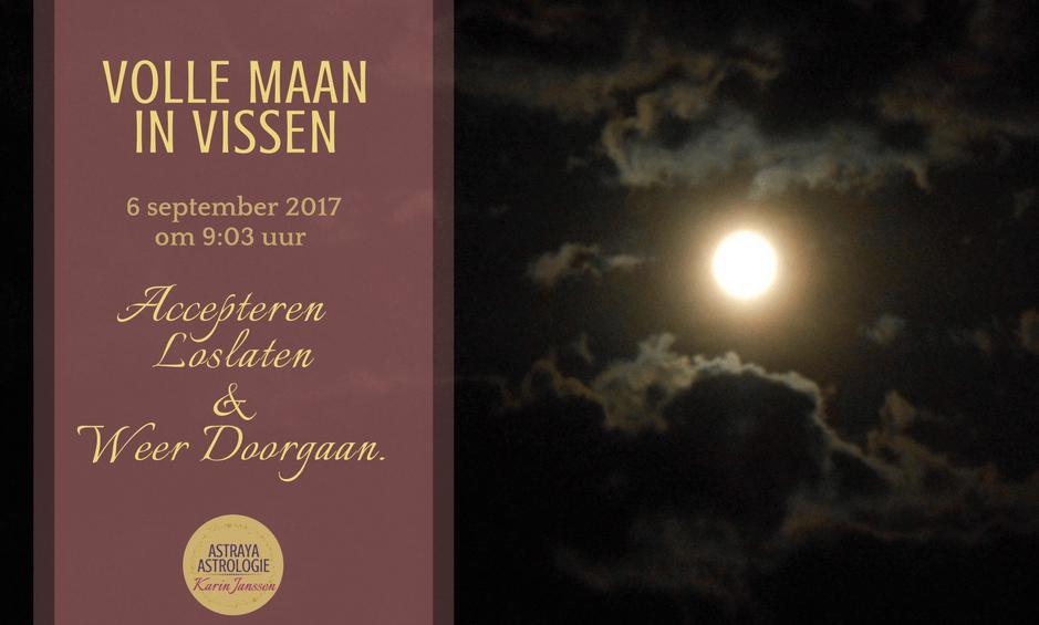 Volle Maan in Vissen op 6 september 2017