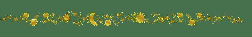 astrologie met alle sterren en planeten en de zon en natuurlijk de maan