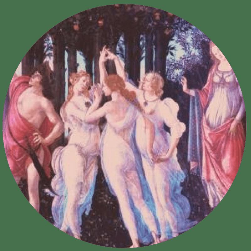 Astraya als 1 van de 3 Gratiën van Venus - Astraya Astrologie