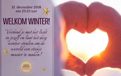 Welkom Winter op 21 december 2018