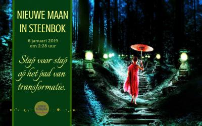 Nieuwe Maan in Steenbok op 6 januari 2019