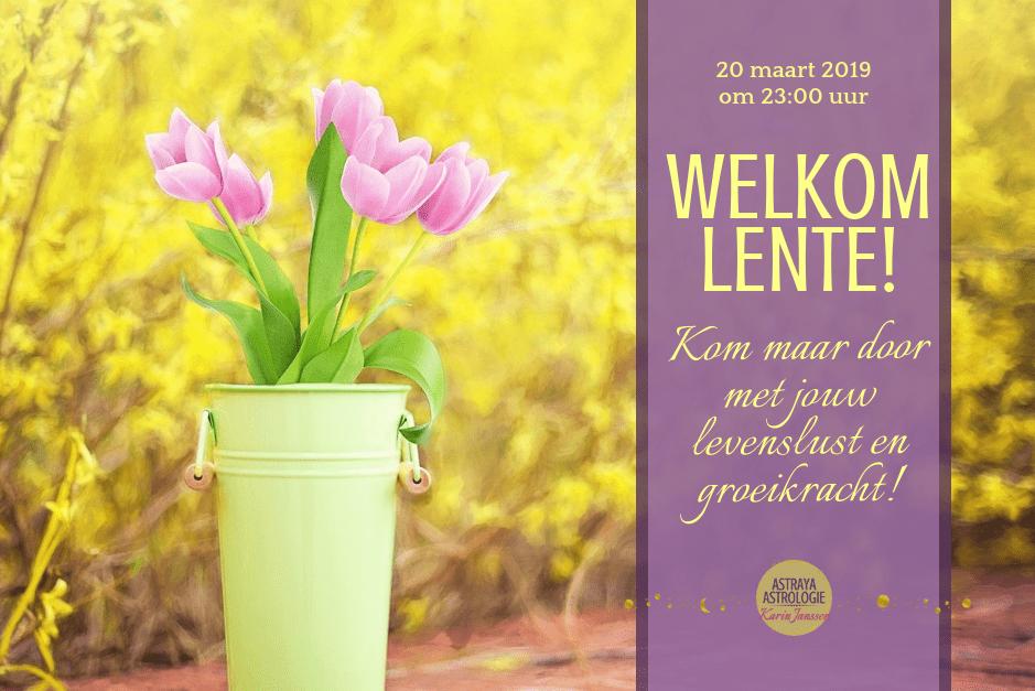Welkom Lente!