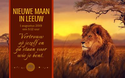 Nieuwe Maan in Leeuw op 1 augustus 2019