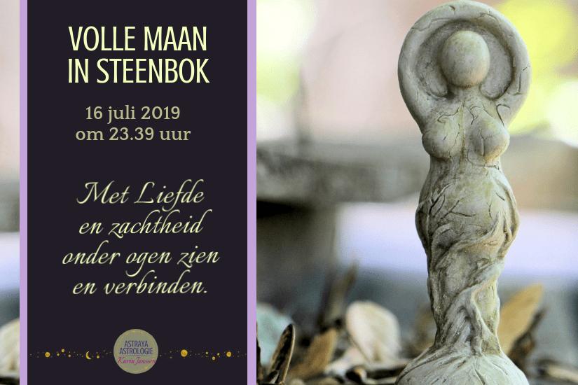Volle Maan in Steenbok op 16 juli 2019