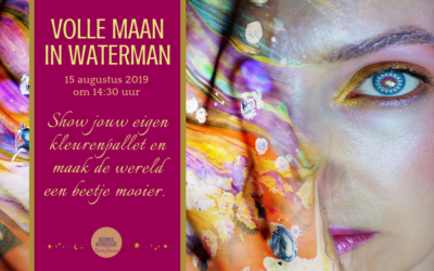Volle Maan in Waterman op 15 augustus 2019