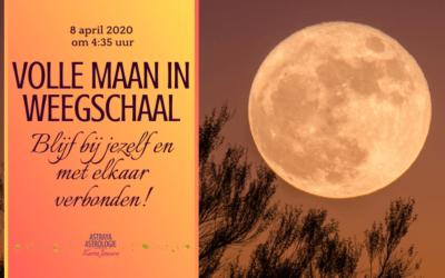Volle Maan in Weegschaal op 8 april 2020